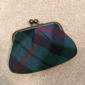 J. Crew Plaid Coin Purse